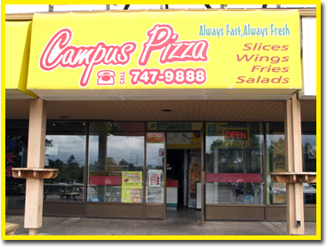Campus Pizza Store Front